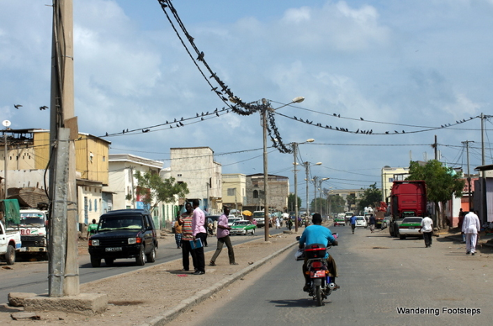 Crows in Djibouti City.