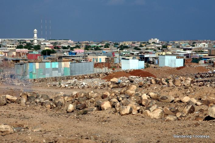 The outskirts of Djibouti City.