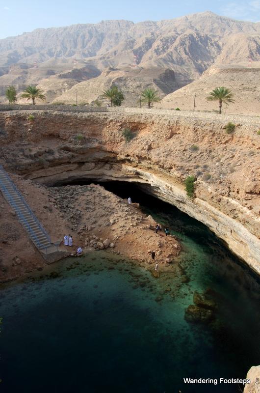 Hawiyat Najm Sinkhole