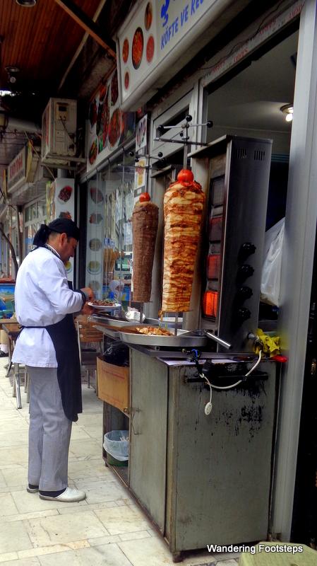 Kebab.  Everywhere in Turkey.