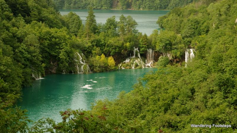 Lovely Plitvice Lakes National Park in Croatia.