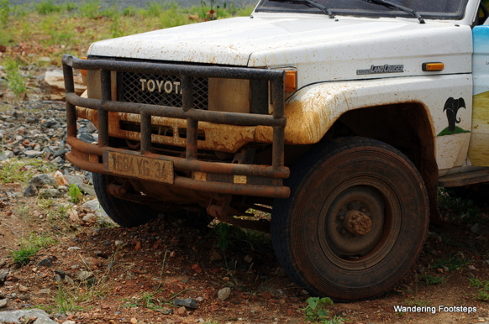 You WILL get muddy, especially if you have a 4WD or high clearance.