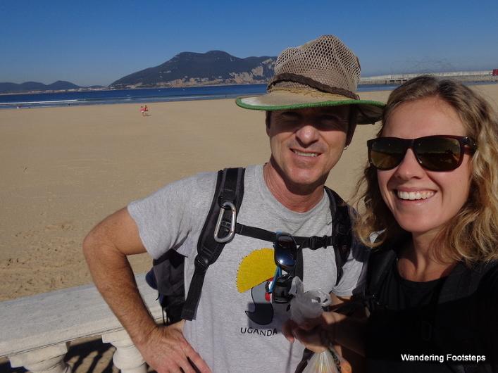 Recognize those two pilgrims on the Camino de Santiago?