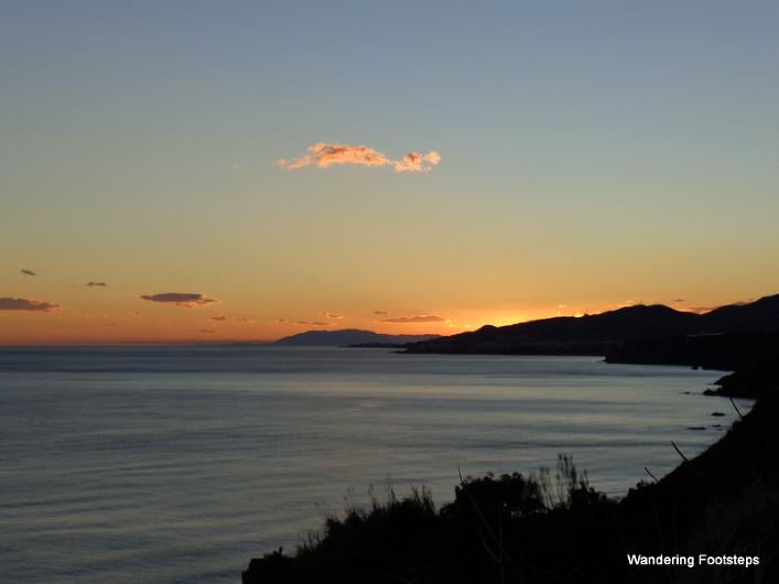 The Mediterranean Coast of Spain.
