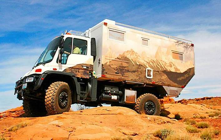 A monster Unimog (what we