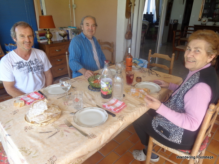 Having lunch with Bruno and his parents - one of our post-yoga routines that never got old.