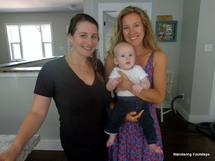 A visit with my cousin, Katie, and her six-month-old baby boy, Theo(dorable).