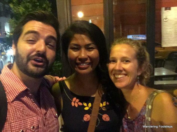 Justin, Muna, and me.