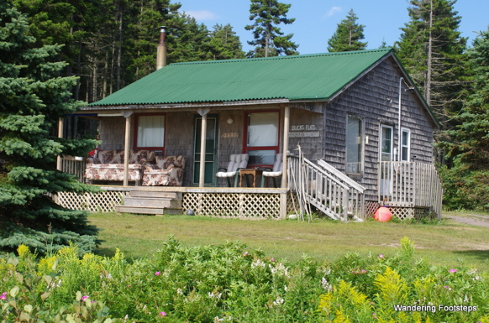 Cottage country in New Brunswick.