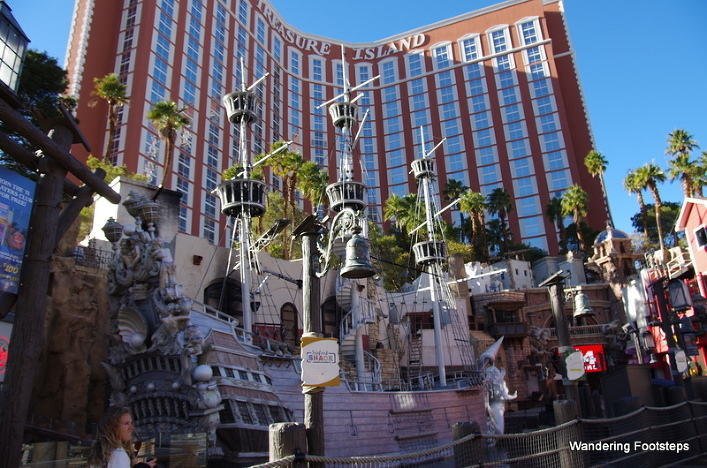 Treasure Island Hotel, Las Vegas Strip.