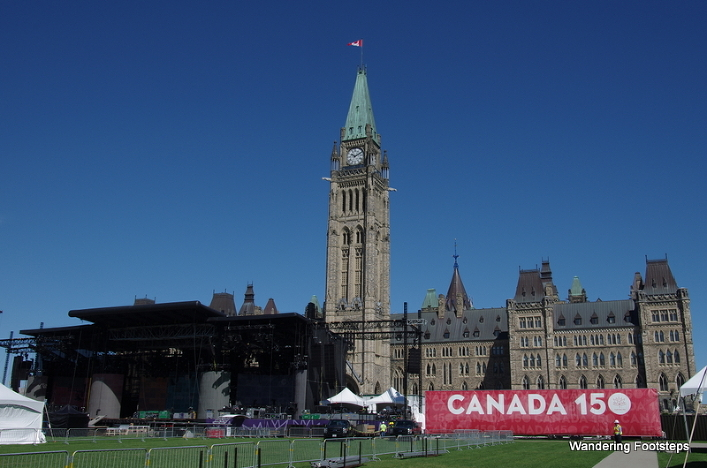 Ottawa gearing up for its biggest Canada Day ceremony yet.