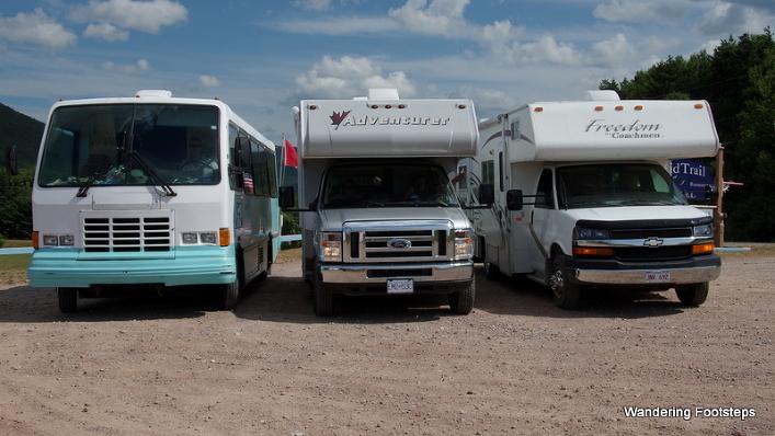 An epic three-RV roadtrip!