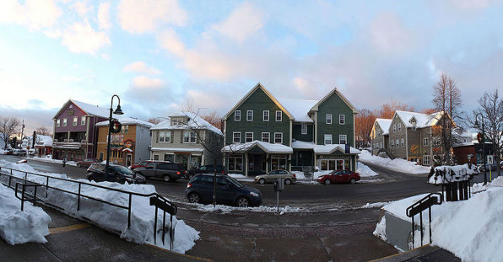 Downtown Antigonish.